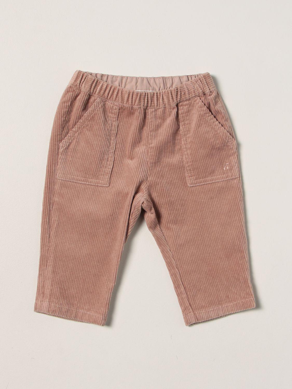 Pantalone Bonpoint: Pantalone a coste Bonpoint rosa 1