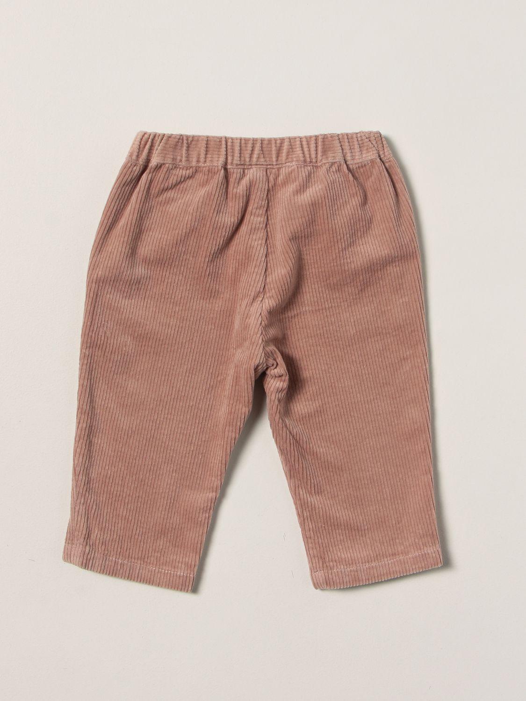 Pantalone Bonpoint: Pantalone a coste Bonpoint rosa 2
