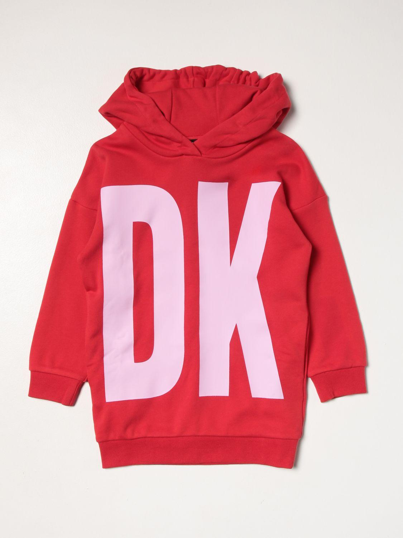 连衣裙 Dkny: 连衣裙 儿童 Dkny 红色 1
