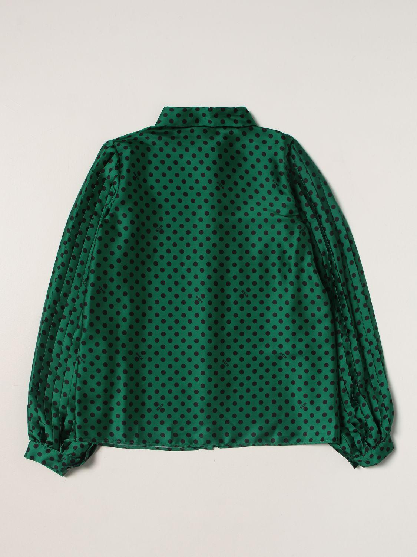 Shirt Msgm Kids: Shirt kids Msgm Kids green 2