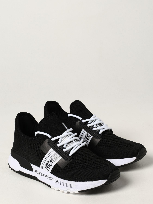 Zapatillas Versace Jeans Couture: Zapatos hombre Versace Jeans Couture negro 2