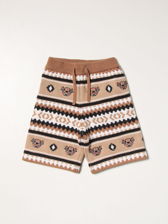 Shorts Burberry: Shorts kids Burberry camel 1
