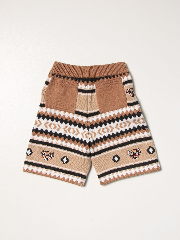 Shorts Burberry: Shorts kids Burberry camel 2