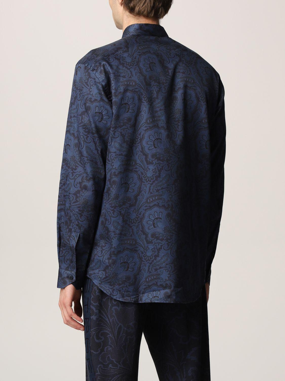 Camisa Etro: Camisa hombre Etro azul oscuro 3