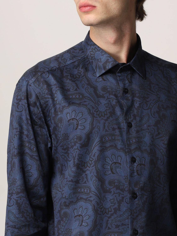 Camisa Etro: Camisa hombre Etro azul oscuro 5