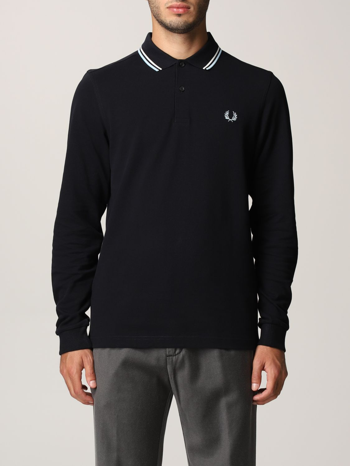 Polo shirt Fred Perry: Polo shirt men Fred Perry navy 1