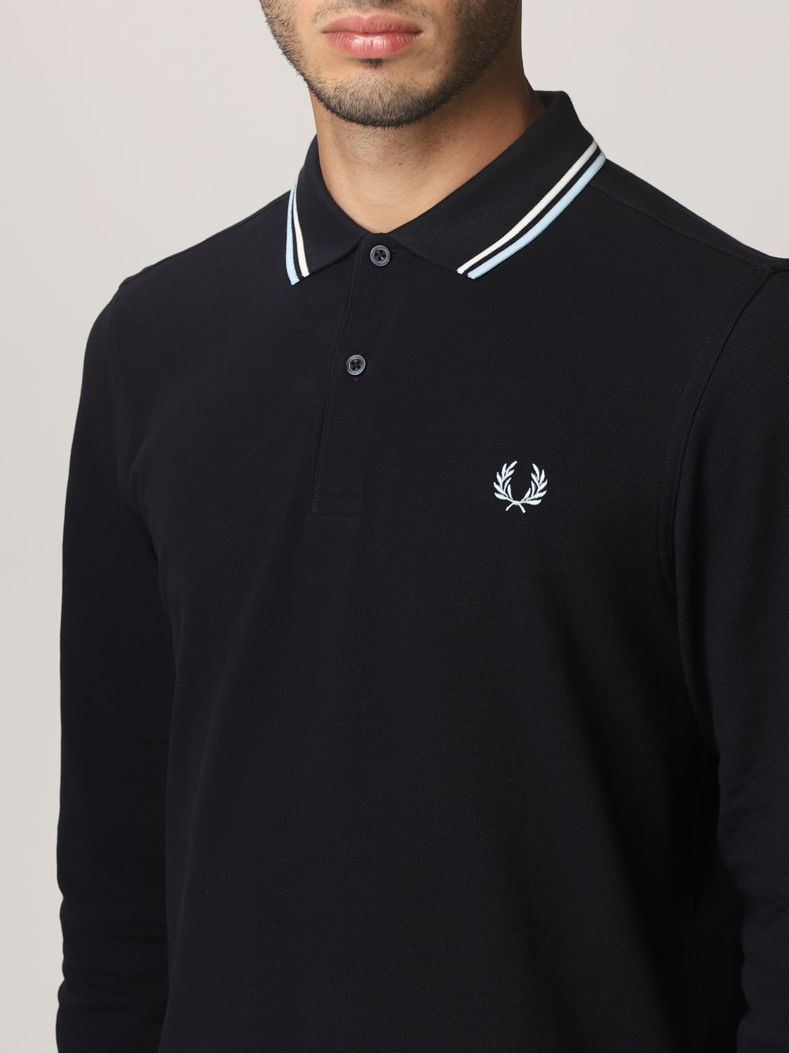 Polo shirt Fred Perry: Polo shirt men Fred Perry navy 3