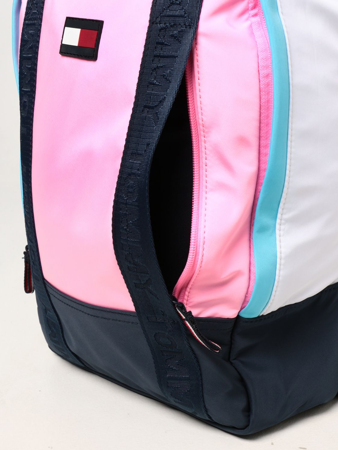 Duffel Bag Tommy Hilfiger: Tommy Hilfiger backpack in recycled polyester pink 3