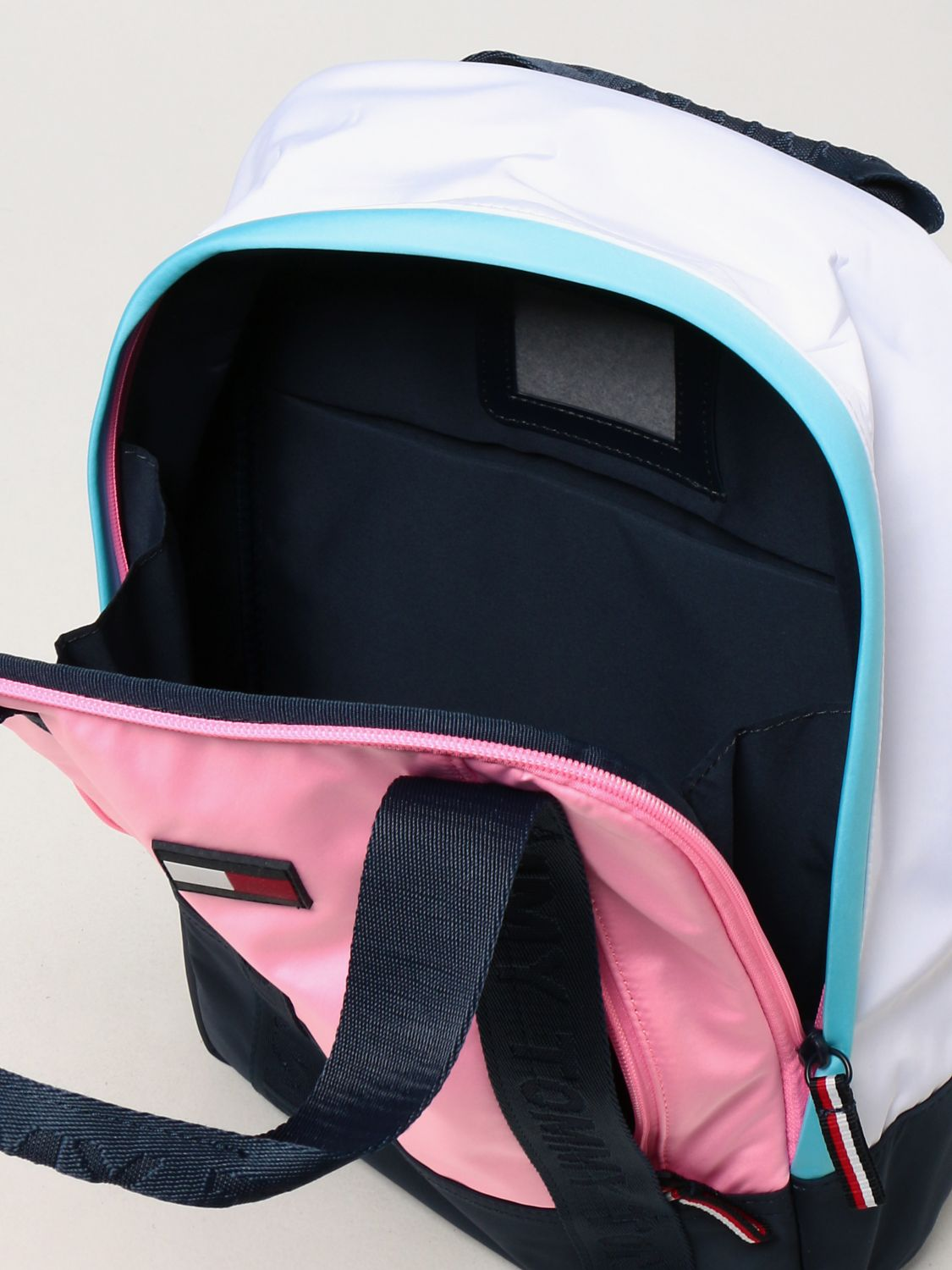 Duffel Bag Tommy Hilfiger: Tommy Hilfiger backpack in recycled polyester pink 4