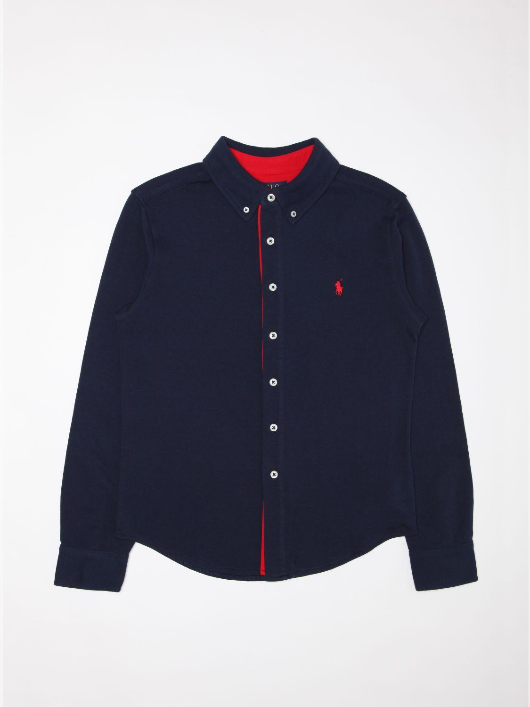 Рубашка Polo Ralph Lauren: Рубашка Детское Polo Ralph Lauren темно-синий 1