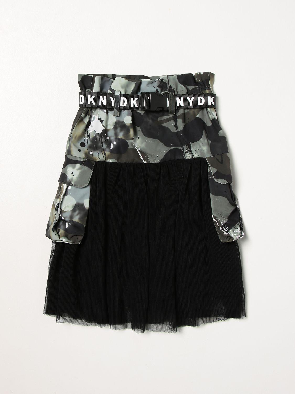 Skirt Dkny: Dkny camouflage skirt green 1