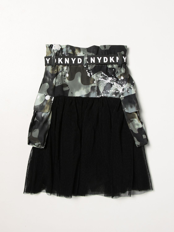Skirt Dkny: Dkny camouflage skirt green 2