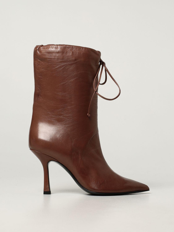 Boots Aldo Castagna: Aldo Castagna leather boots sand 1