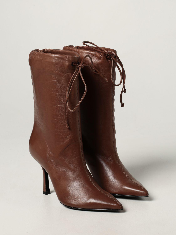 Boots Aldo Castagna: Aldo Castagna leather boots sand 2