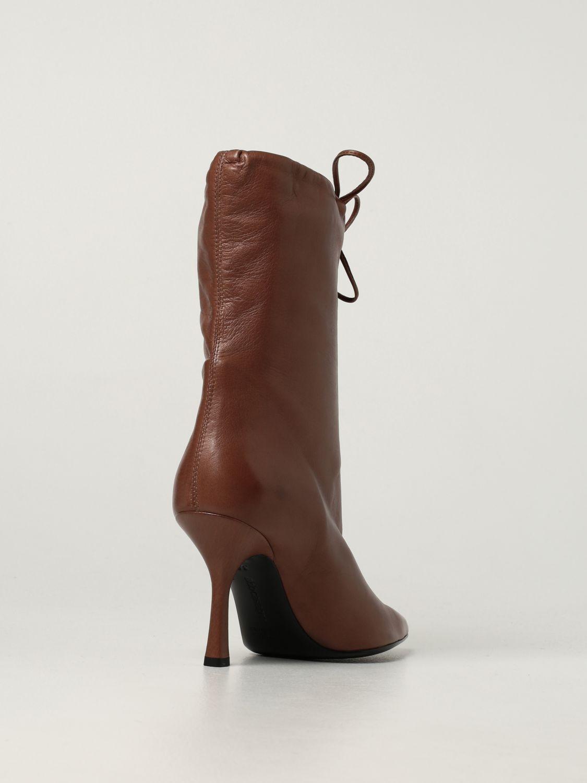 Boots Aldo Castagna: Aldo Castagna leather boots sand 3