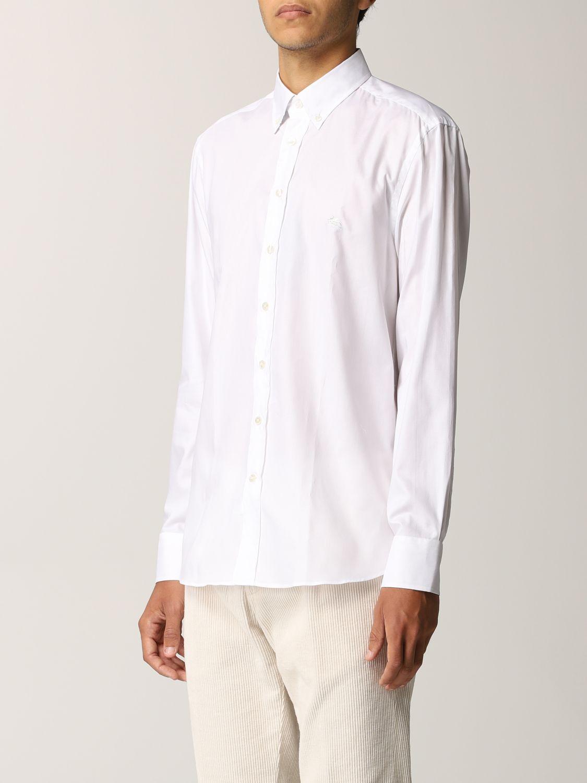 Camisa Etro: Camisa hombre Etro blanco 4