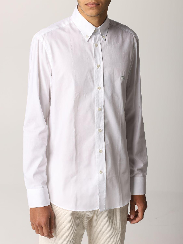 Camisa Etro: Camisa hombre Etro blanco 5