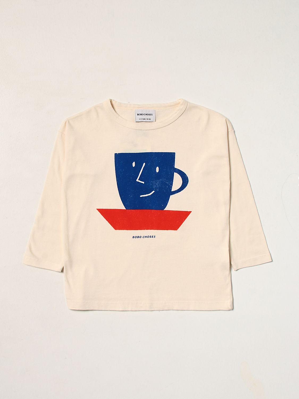 T-shirt Bobo Choses: T-shirt Bobo Choses con stampa bianco 1