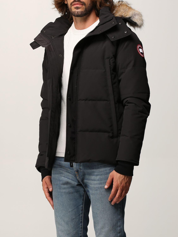 Cappotto Canada Goose: Cappotto uomo Canada Goose nero 3