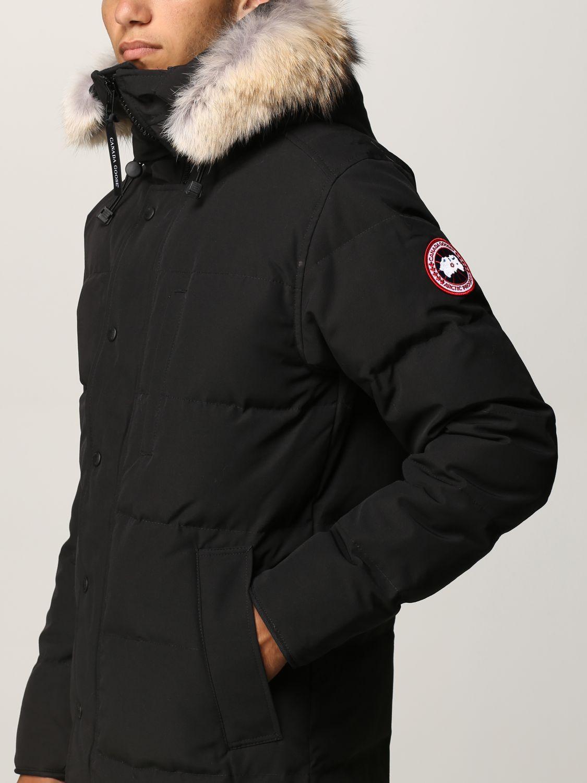 Cappotto Canada Goose: Cappotto uomo Canada Goose nero 4