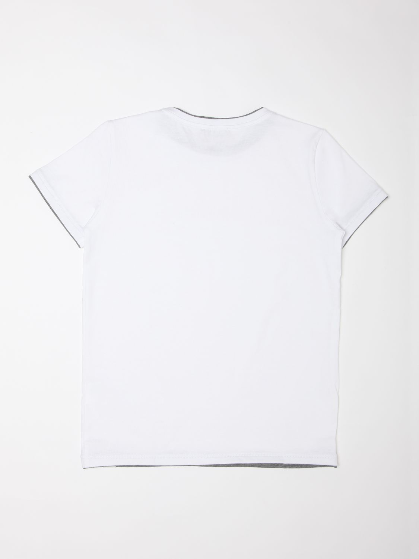T-shirt Paolo Pecora: T-shirt enfant Paolo Pecora blanc 2