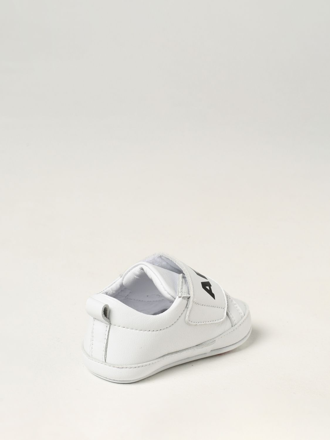 Shoes Dsquared2 Junior: Dsquared2 Junior leather sneakers white 3