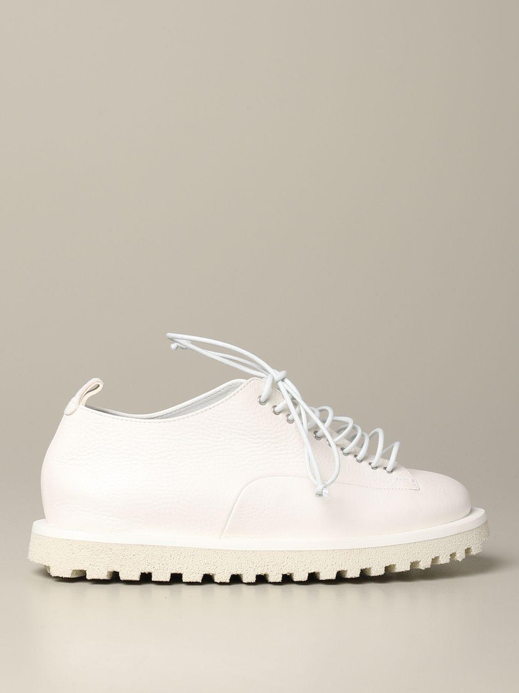 Marsèll Pomicella Derby in leather white 1