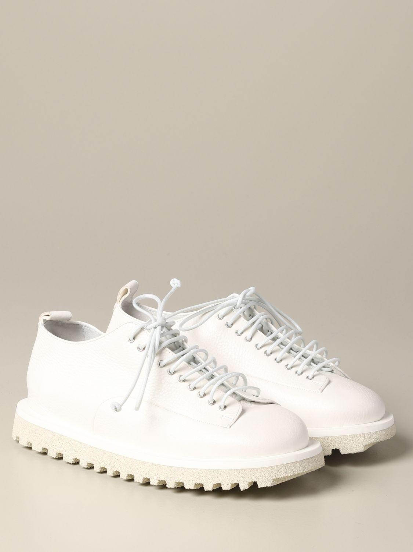Marsèll Pomicella Derby in leather white 2