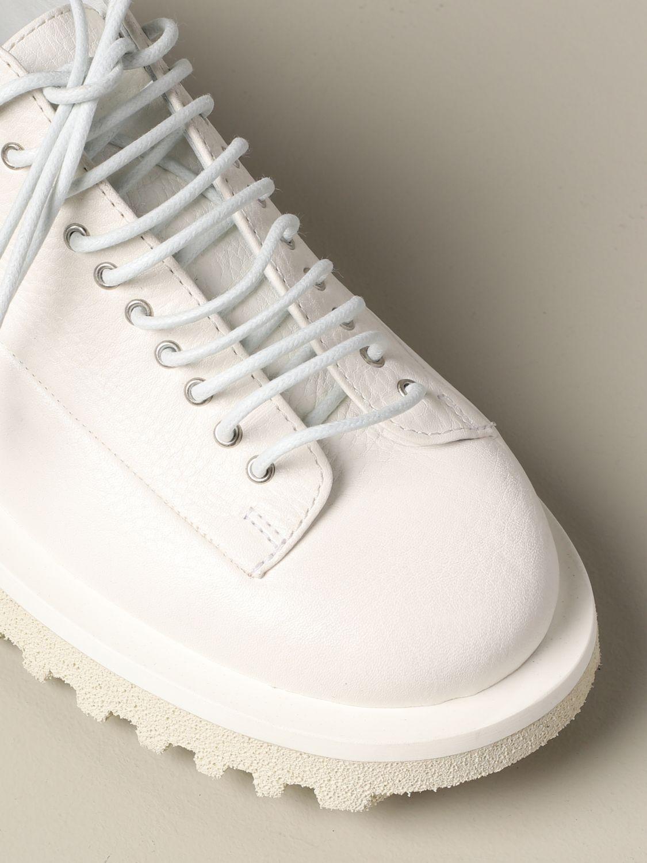 Marsèll Pomicella Derby in leather white 4