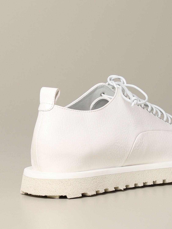 Marsèll Pomicella Derby in leather white 5
